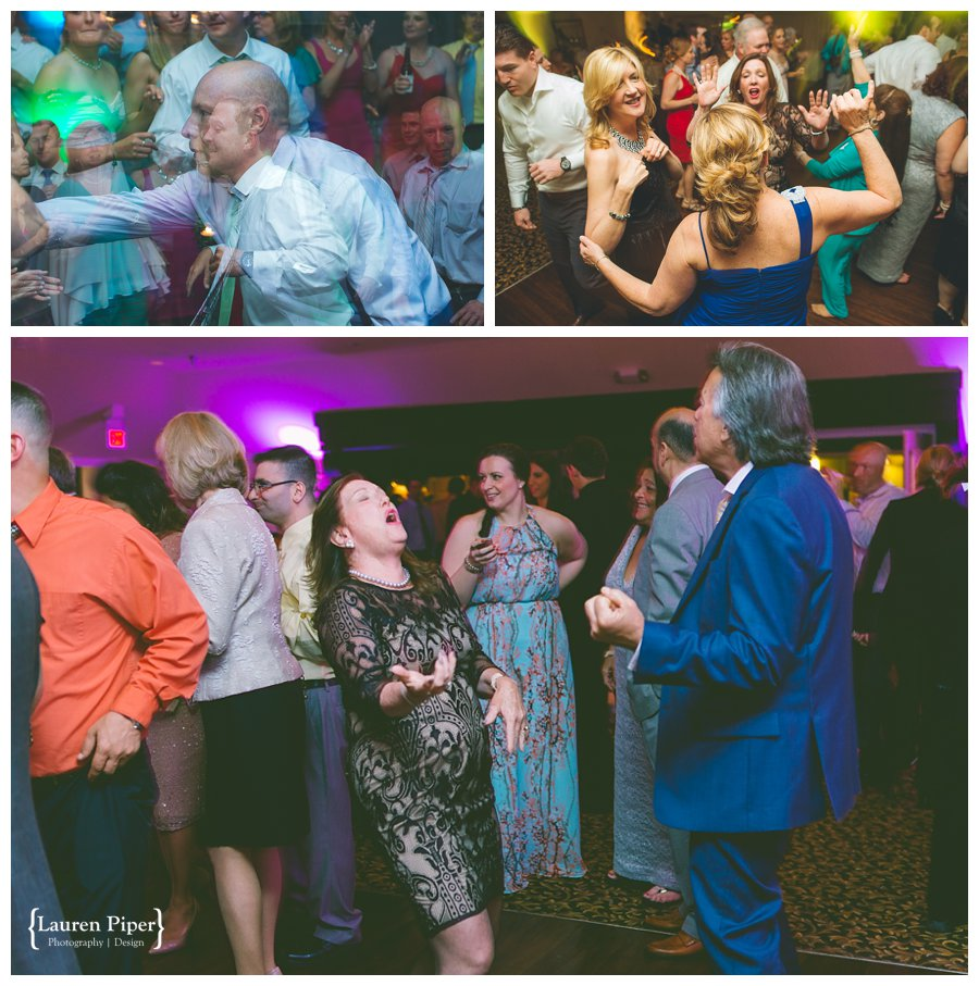 Skylands Manor wedding reception
